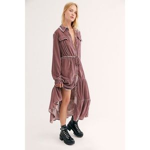 NWT Free People Bella Donna Duster